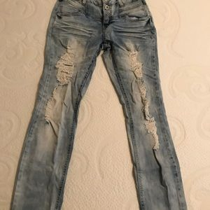 Ripped BLUE SPICE Jeans
